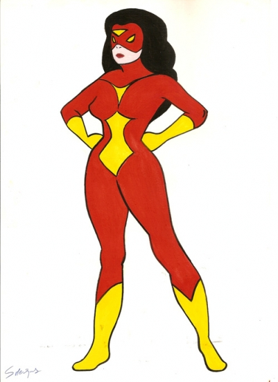 Spider-Woman by wisewyn